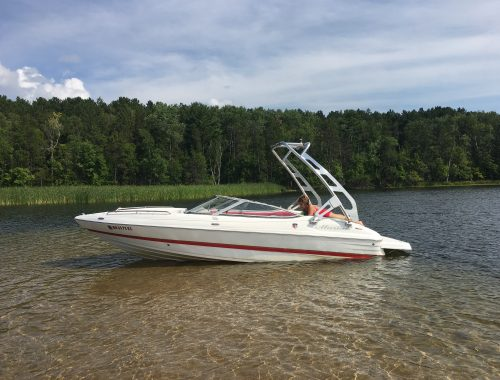 20″ Mariah open bow with awesome sound system and LED lighting